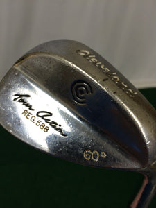 Cleveland 588 Chrome 60° Wedge True Temper Dynamic Gold Wedge Flex