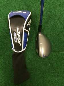 Left Hand Mizuno 2015 JPX EZ 22° 4 Hybrid w/ Head Cover Fujikura Regular Flex