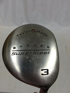TaylorMade Supersteel 15° 3 Fairway Wood TaylorMade Bubble Stiff Flex