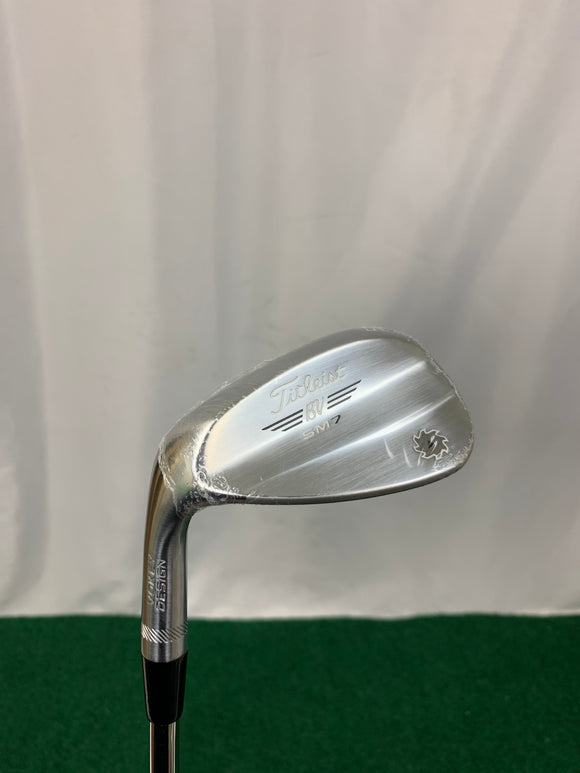 NEW! Left Handed Titleist SM7 52* F Grind Wedge Regular Flex
