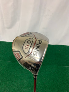 NEW! Ping G15 Driver 9* Stiff Flex w/ Head Cover