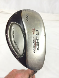 Nickent Genex 3DX Ironwood 20° 3 Hybrid Aldila NV Stiff Flex