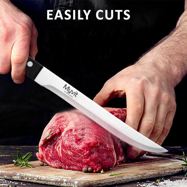 Premium Sk Series Steak Chef Knife 3 Piece Set - 8 Inch 5 3.5