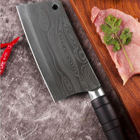 KING Series Chef Cleaver with UltraSharp Stainless Steel Blade - 7 Inches