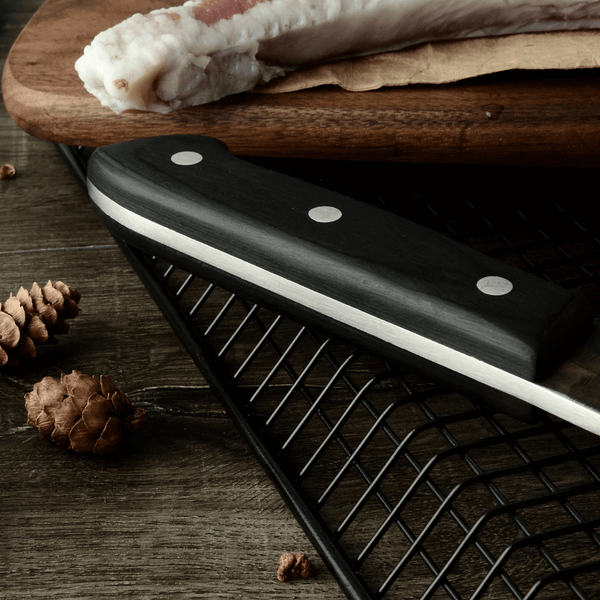 KING Series PRO Butcher Knife with Desconi™ High Carbon Steel Blade - 6.5 Inches