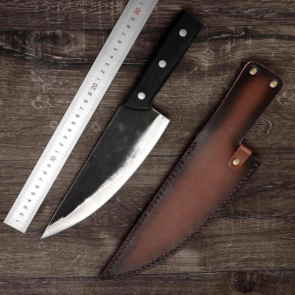 KING Series PRO Chef Knife with Desconi™ High Carbon Steel Blade - 8 Inches