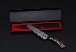 Prime Series Japanese Chef Knife with High Carbon Steel Blade and Composite Micarta Handle