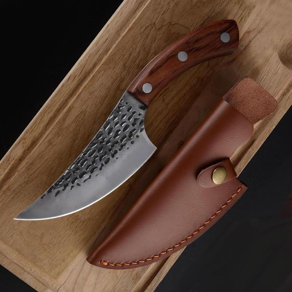 KING Series RK PRO Chef Knife with Desconi™ High Carbon Steel Blade - 5.5 Inches