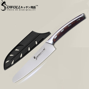 Premium SWL Series Chef Knife with UltraSharp™ Stainless Steel Blade - 5 Inches