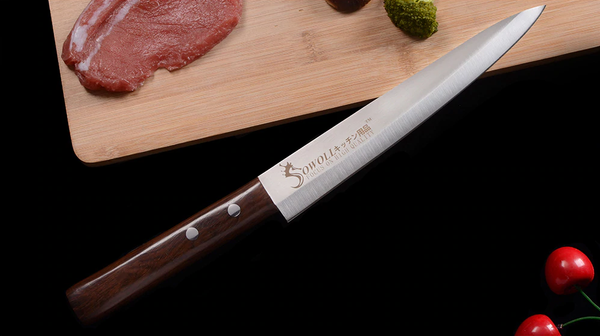 Premium SWL Series Japanese Sashimi Chef Knife with UltraSharp™ Stainless Steel Blade - 8 Inches