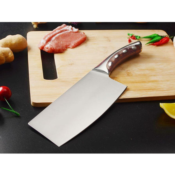 Premium Swl Series Widestyle Chef Knife With Ultrasharp Stainless Steel Blade - 7 Inches