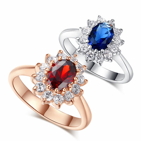 Ruby Sapphire Royal Ring - Jewelry - Esterdam