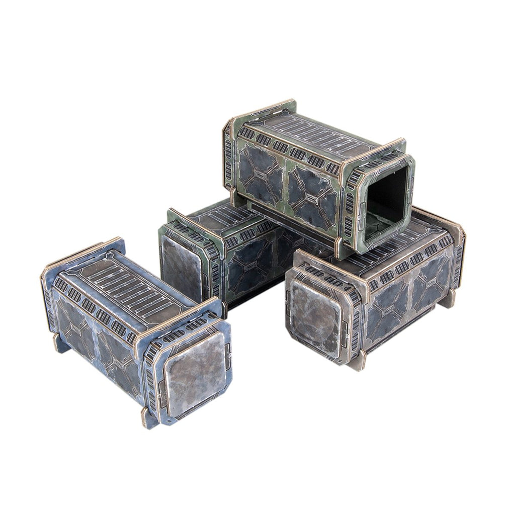 TinkerTurf Sci-Fi Terrain - Containers - Neutral