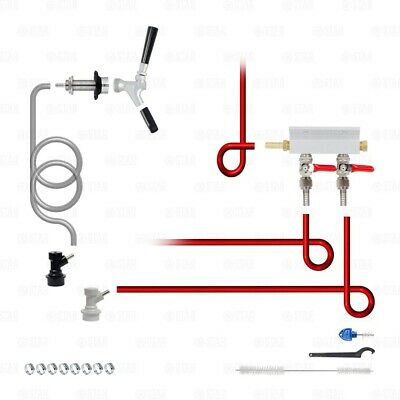 Add A Tap Home Brew Beer Manifold Kit! Add a Faucet to Your Kegerator or Keezer!-Star Beverage Supply Co.