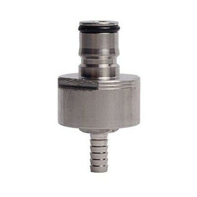 Stainless Steel Carbonating Cap for 32mm/2L Bottle, 3/16