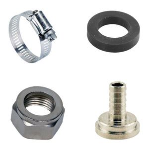 "Draft Beer Tubing Tailpiece Barb Hex Nut Clamp Nipple Kit Set - 5/16"" Inch ID-Home & Garden:Food & Beverages:Beer & Wine Making-Star Beverage Supply Co."