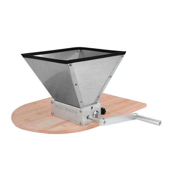 Heavy Duty Stainless Steel Brewing Grain Mill Barley Grinder Malt Crusher + Base-Home & Garden:Food & Beverages:Beer & Wine Making-Star Beverage Supply Co.