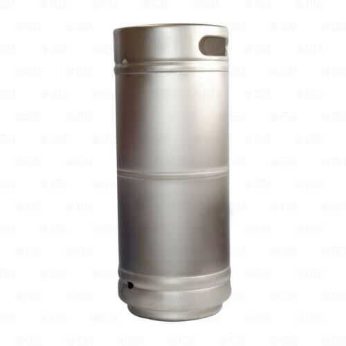 1/6 Barrel Stainless Steel Commercial Beer Keg 5.16 Gallon Sanke D Spears Sixtel-Home & Garden:Food & Beverages:Beer & Wine Making-Star Beverage Supply Co.