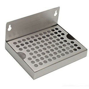"4"" x 6"" Kegerator Drip Tray Stainless Steel Hanging with Removable Grate-Business & Industrial:Restaurant & Food Service:Bar & Beverage Equipment:Draft Beer Dispensing:Drip & Drain Pans-Star Beverage Supply Co."
