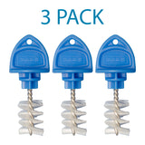 Beer Faucet Hygiene Fruit Fly Stopper Plug Cap Cover Cleaning Brush PACK OF 3