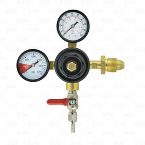 Dual Gauge High Pressure Nitrogen Primary Coffee or Beer Regulator 0-100PSI-Business & Industrial:Restaurant & Food Service:Bar & Beverage Equipment:Draft Beer Dispensing:Other Draft Beer Dispensing-Star Beverage Supply Co.