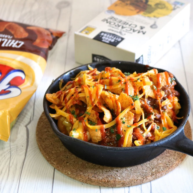 MAC & CHEESE FRITO PIE