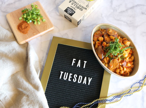 Fat Tuesday Jambalaya Mac & Cheese