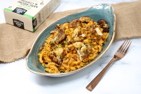 Caramelized Cauliflower Gluten-Free Mac and Cheese