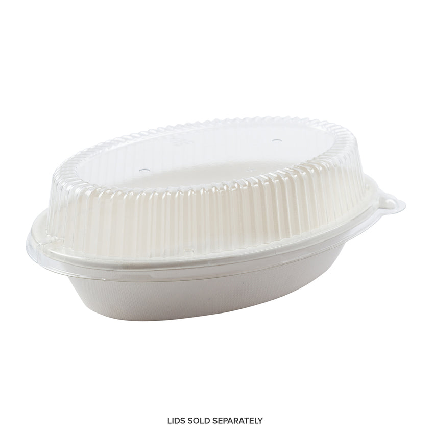 "8 x 5 x 1-5/8"" - 20 oz. Oval Bowls, Case of 500"