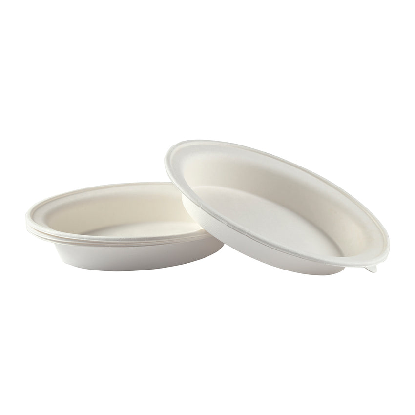 "10 x 7 x 1-7/8"" - 32 oz. Oval Bowl"