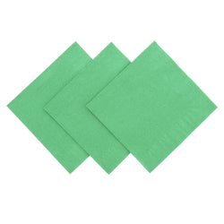 Kelly Green Beverage Napkins