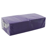 Purple Beverage Napkins Package
