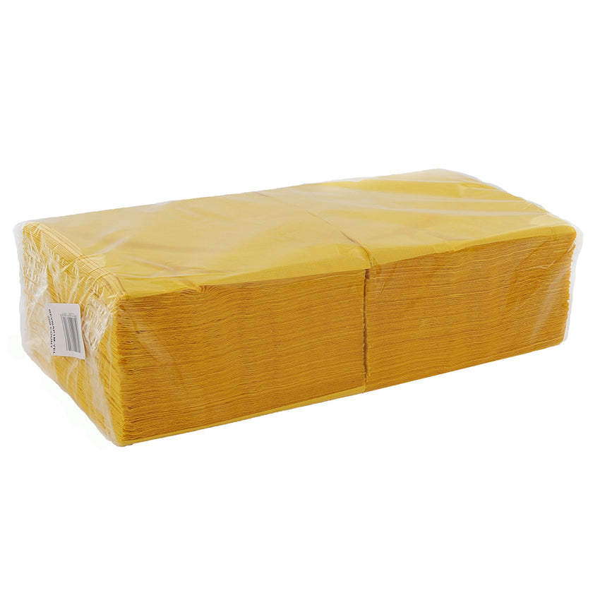 Yellow Beverage Napkins Package