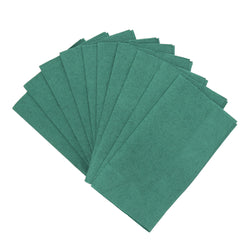 Dark Green Dinner Napkins