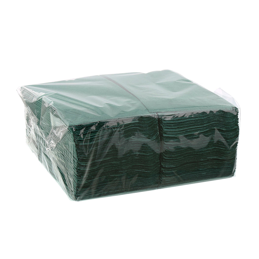 Dark Green Dinner Napkins - Pack of 125
