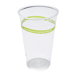 24 oz. Clear PLA Compostable Cup