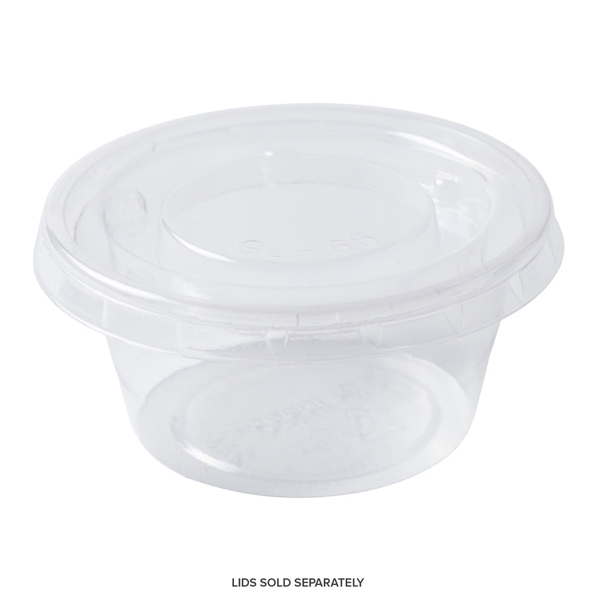 CPC-2 - 2 oz. PLA Clear Portion Cups Sample