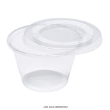 4 oz. PLA Clear Portion Cups, Case of 2,500
