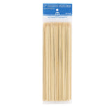 "8"" Round Bamboo Skewers, Package of 100"