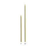Flat Bamboo Skewer Sizing