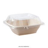 24 oz. Square Tan Bowls, Case of  300
