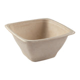 DPT-40B - 40 oz. Square Tan Bowls Sample