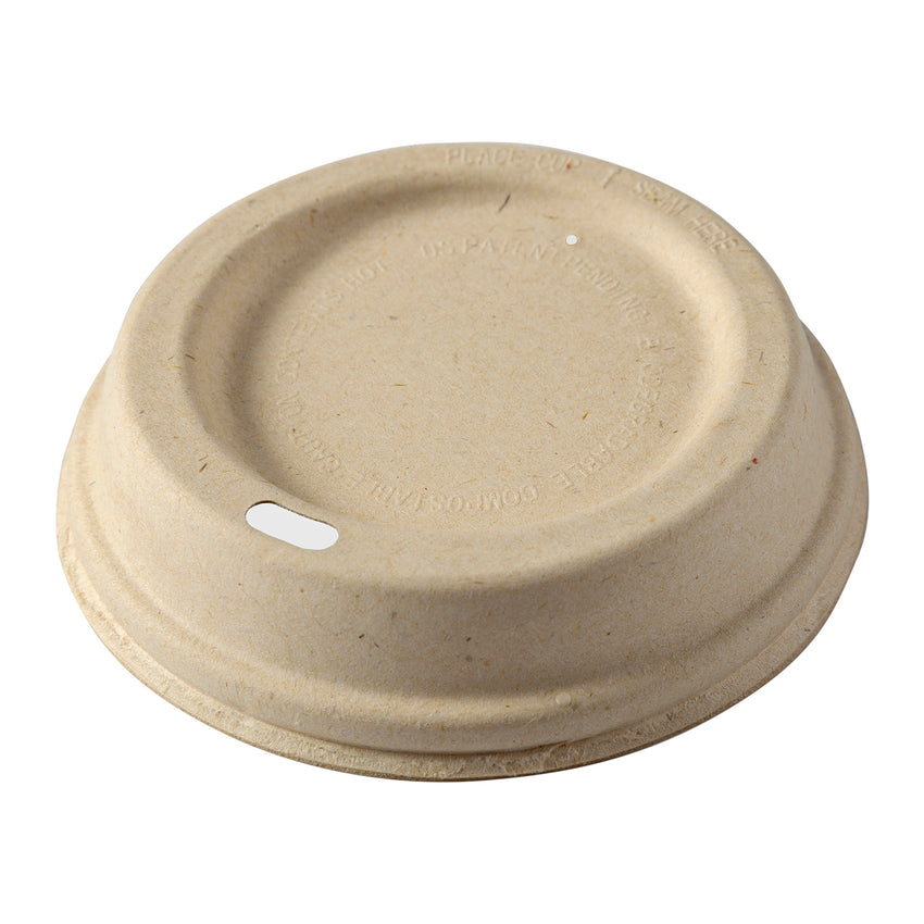 HCL-1220 - 12 to 20 oz. Fiber Hot Cup Lids Sample