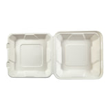 HL-81 - Medium Molded Fiber Hinged Lid Containers Sample