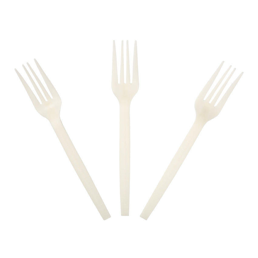 "PWF-7 - 7"" Plant Starch Forks Sample"
