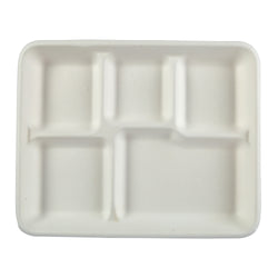 5 Compartment Lunch Tray