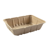 "7 x 9 x 2.25"" Shallow Tan Tub"