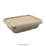 "7 x 9 x 2.25"" Shallow Tan Tub - Lid Sold Separately"