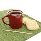 "7.5"" Wood Coffee with Coffee and Cookies"