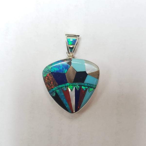 Micro Inlay Pendant